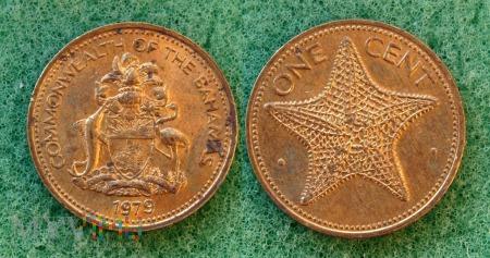 Bahamy, 1 cent 1979