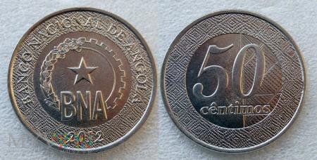 Angola, 50 centimos 2012