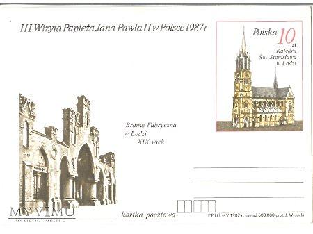 III WIZYTA PAPIEŻA JANA PAWŁA II W POLSCE 1987 3