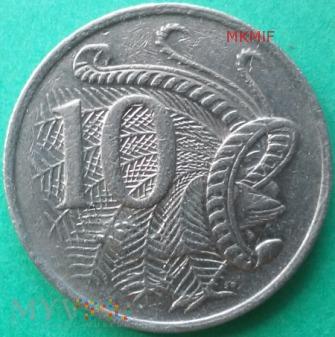 10 centów Australia 1984
