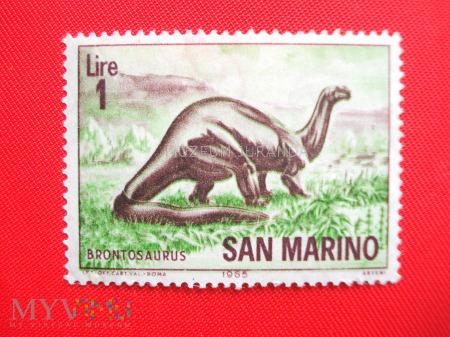 Duże zdjęcie Brontozaur
