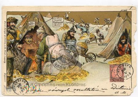 Pozdrowienia z Klondyke - 1898-1900
