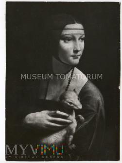 da Vinci - Dama z łasiczką (gronostajem)