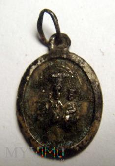 Medalik z Matka Boską