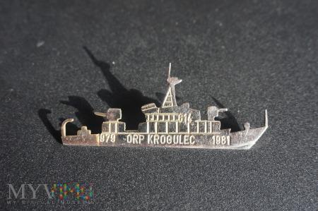 "Odznaka Rezerwy ORP ,,Krogulec"""" 1979-1981"