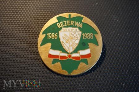 Odznaka Rezerwy WOPK; - 1986-1988