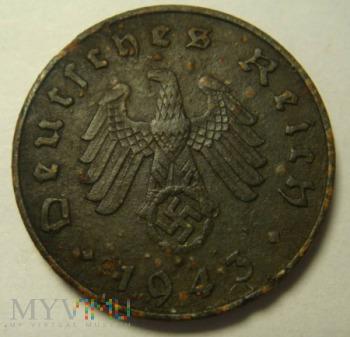 10 Reichspfennig 1943 ,A
