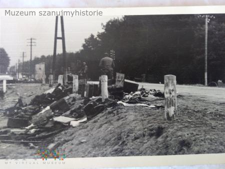 rozbita kolumna wojskowa 1939
