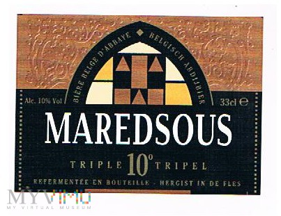 maredsous triple 10°