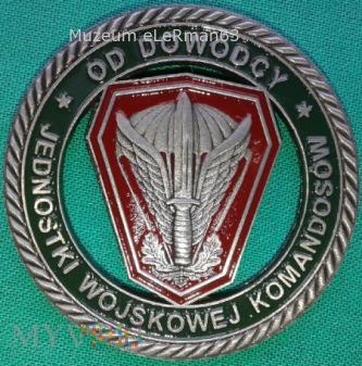 Coin. Płk Kukuła JW KOMANDOSÓW. Lubliniec