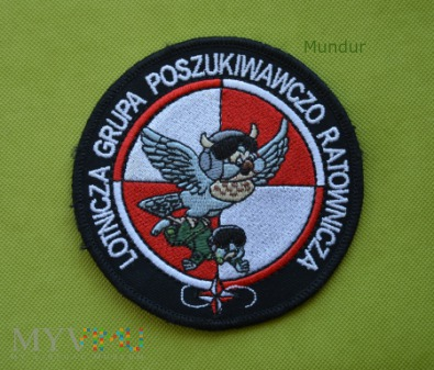 Duże zdjęcie Oznaka Lotniczej Grupy Poszukiwawczo-Ratowniczej