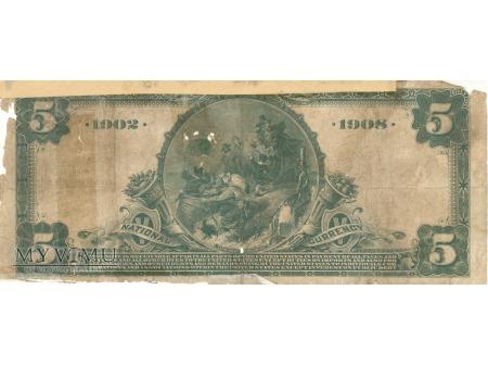 5 dolarów USA NEW YORK
