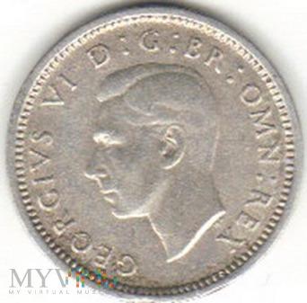 3 PENCE 1938 Ag