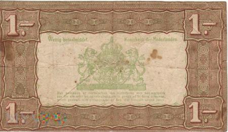 HOLANDIA 1 GULDEN 1938