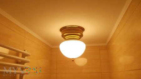 Plafon / Ampla łazienkowa Art Deco