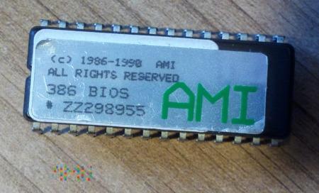 Eeprom BIOS-u do płyt z procesorami typu 386