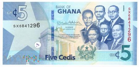 Ghana - 5 cedi (2019)