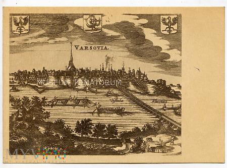 W-wa - Wisła - miedzioryt z 1659 r.