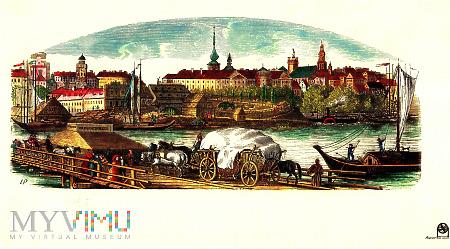 reprint panoramy Warszawy