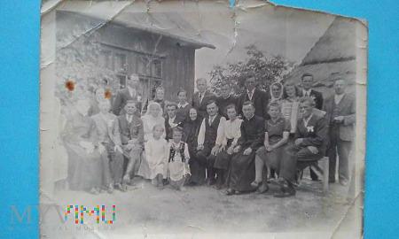 Zdjęcie z wesela - 1943r.