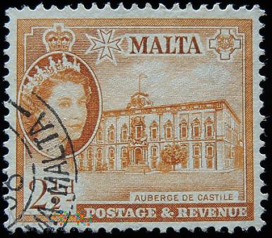 Malta 2½d Elżbieta II
