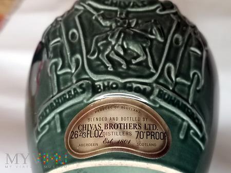 butelka po 21-letniej szkockiej