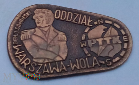 Znaczek Oddziału Wolskiego PTTK