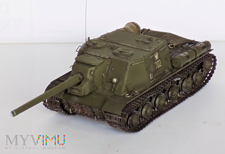 Ciężkie działo pancerne ISU-122