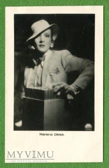 Marlene Dietrich pocztówka Argenta l. 30-te