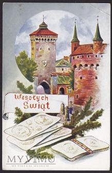 Wesołych Świąt Kraków opłatek