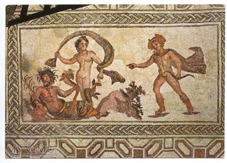 Greckie mozaiki - Apollo i Dafne