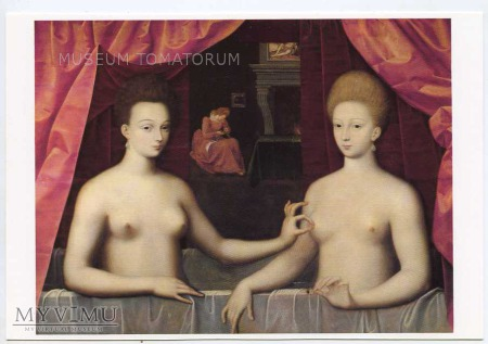Gabrielle d'Estrees ze swoja siostrą