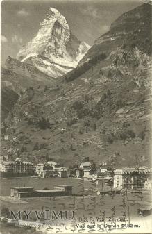 Zermatt i Matterhorn