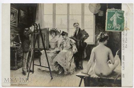Edouard - Wizyta u malarza - Atelier
