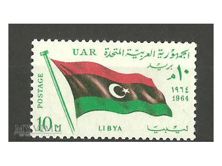 Libijska flaga.