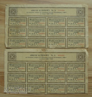 obligacje, rok 1924