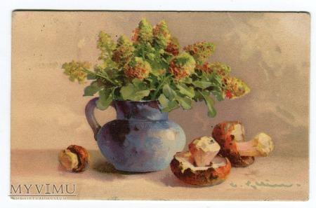 Catharina C. Klein kwiaty grzyby Flowers Pilze