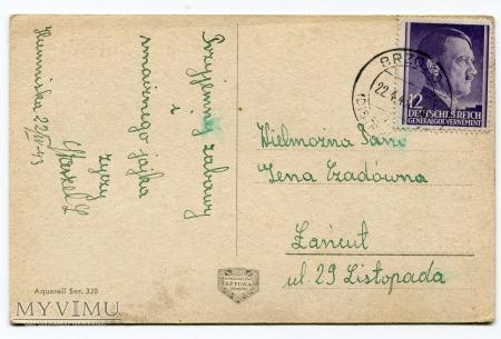1943 Wielkanoc Okupacja Generalne Gubernatorstwo