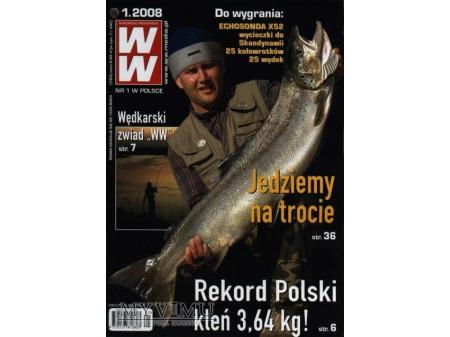 Duże zdjęcie Wiadomości Wędkarskie 1-6/2008 (703-708)