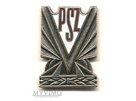 Duże zdjęcie Odznaka PSZ