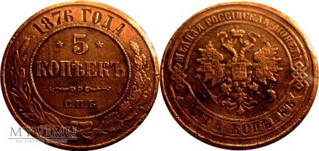 5 kopiejkek 1876