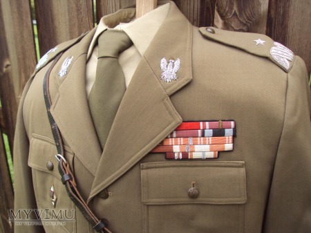 Mundur służbowy generała brygady