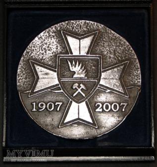 Medal -100 Lat Ratownictwa Górniczego w KWK Knurów