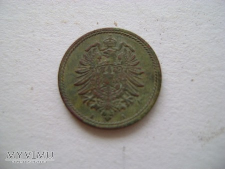 5 pfenigów 1874