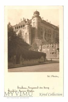 "Krakau ""Fragment der Burg"""