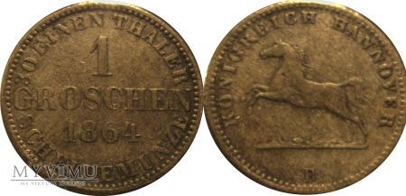 1 groschen 1864
