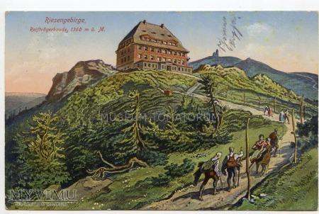 Karkonosze - schr. Na Szrenicy - 1925