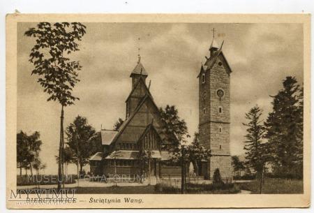 Karkonosze - Bierutowice, Świątynia Wang - ok.1949