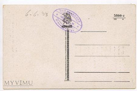 Karkonosze Śnieżka Schneekoppe 1943
