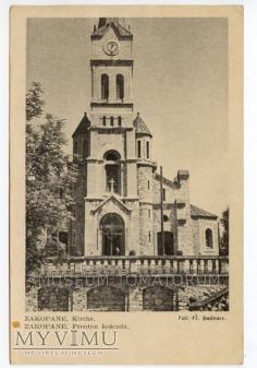 Zakopane Kościół przy Krupówkach - lata 39-45
